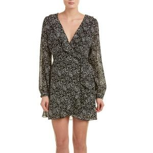 Lucyparis Wrap dress chiffon and fully lined